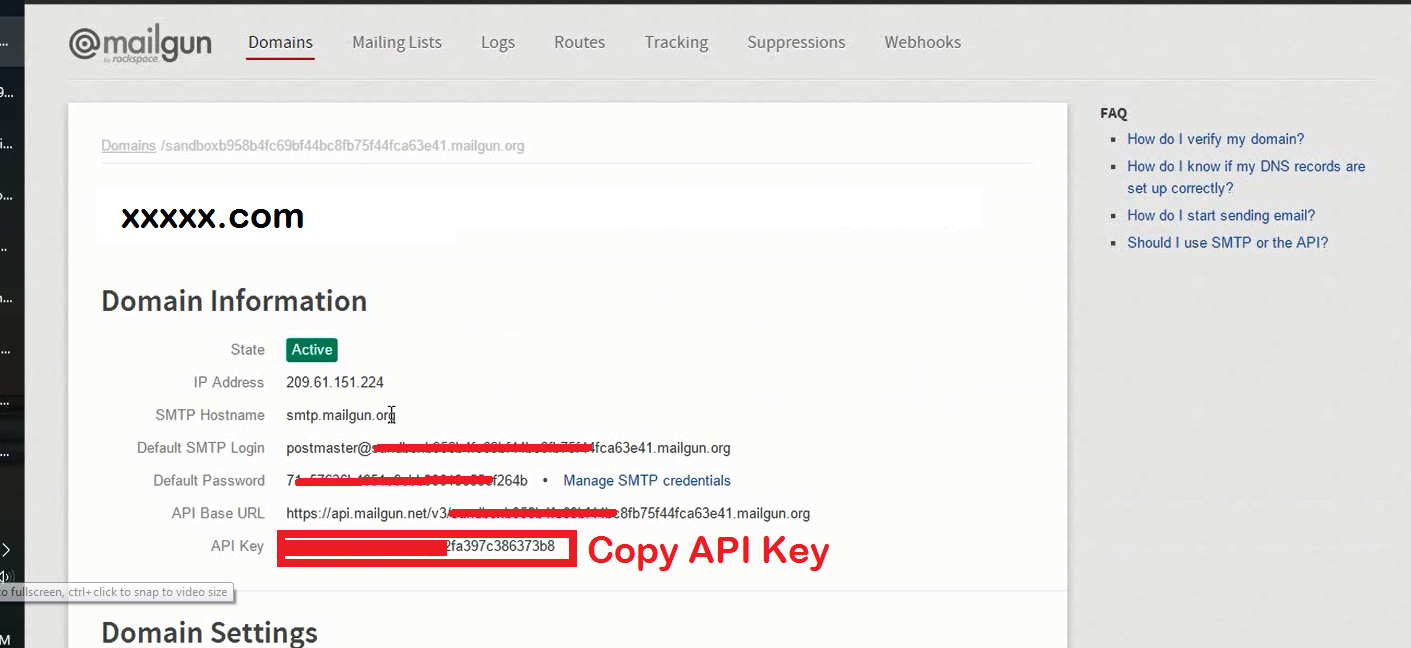 11. Copy API Key