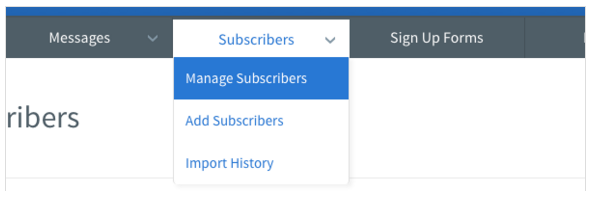aweber-manage subscriber-1